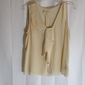 Maeve Anthropologie silk blouse